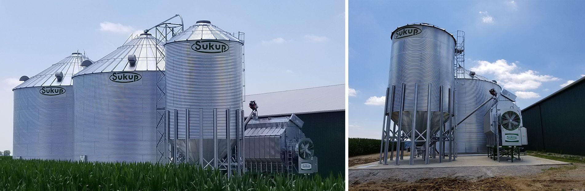 Farm & Commercial Grain Bin | Horizon AG in Wilmington, Ohio